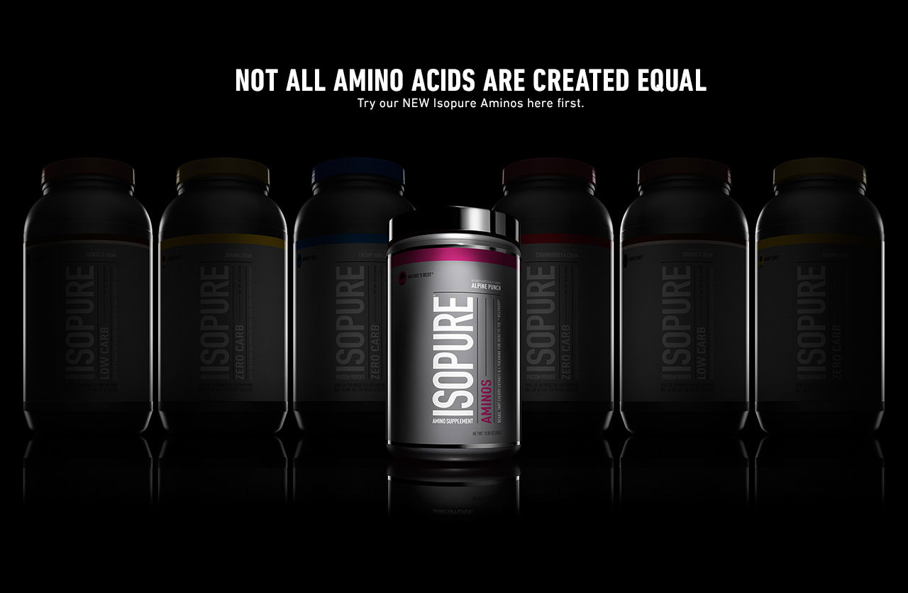 Learn more about Isopure Aminos