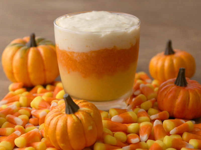 Candy Corn Protein Smoothie