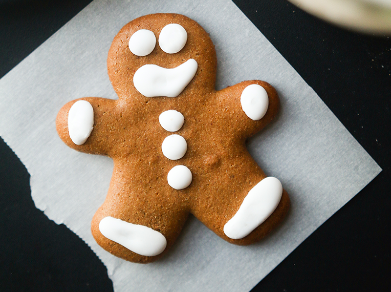 Protein Gingerbread Men