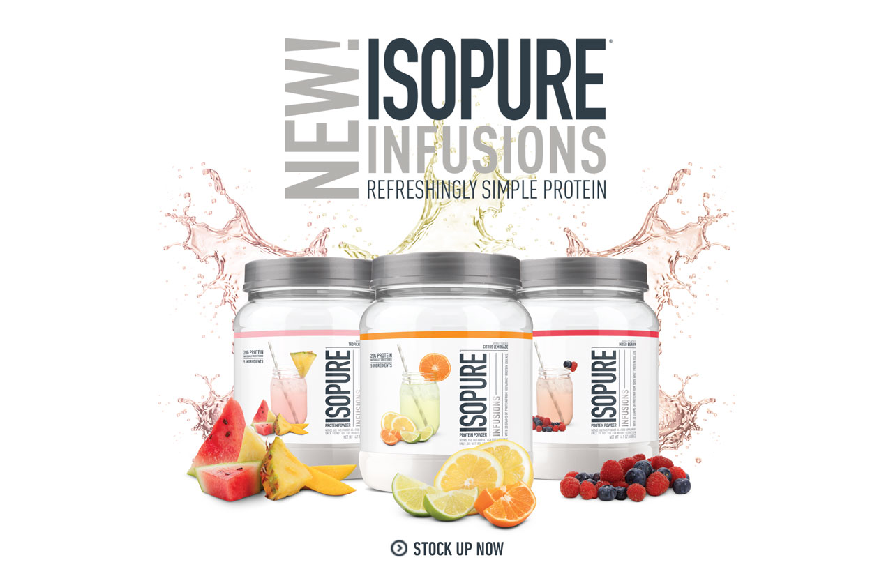 NEW! ISOPURE INFUSIONS