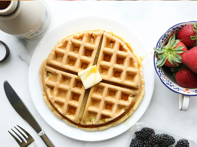 Protein Belgian Waffle