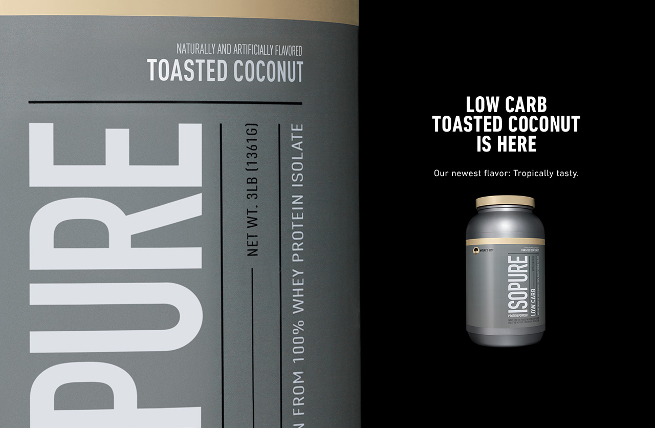 Carb Isopure Isopure Zero Carb Toasted
