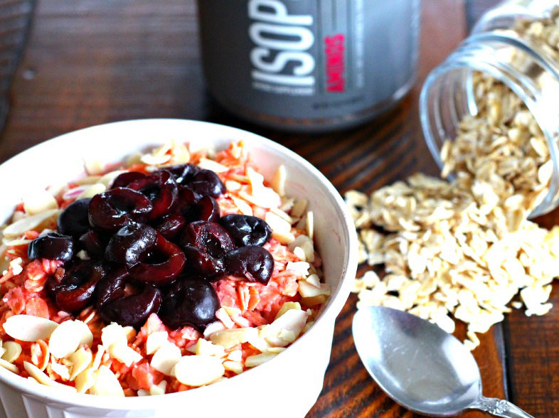 Cherry Pie Recovery Oats