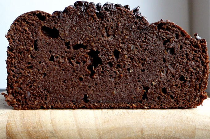 High Protein Chocolate Banana Bread