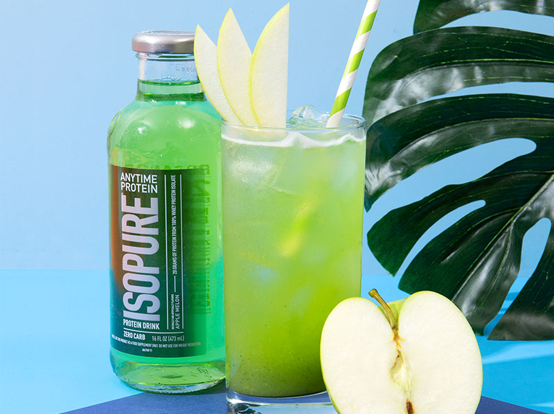 Isopure Green Apple Cooler Smoothie