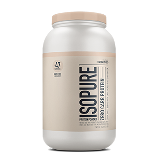 Learn more about Isopure® Whey Protein Isolate Unflavored