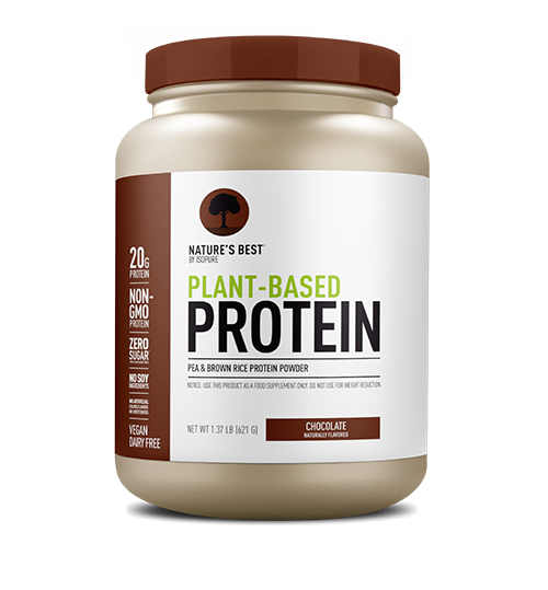 Natures Best by ISOPURE Plant-Based Protein