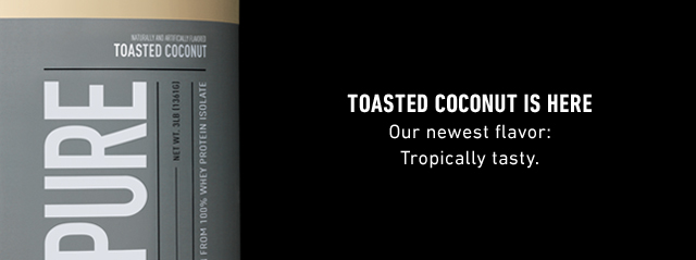 Toasted Coconut is here